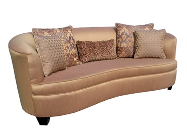 Picture of Audrey Sofa w/ Wood Legs